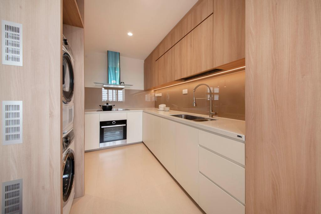 Contemporary, HDB, Kitchen, Yishun Street 71, Interior Designer, Dyel Design
