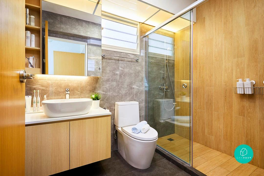 Not-So-Common: 10 Seriously Decked-Out HDB Common Bathrooms 6