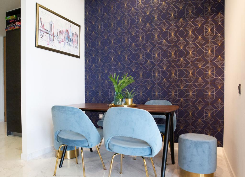 Contemporary, Condo, Dining Room, Duo Residences, Interior Designer, Home Philosophy