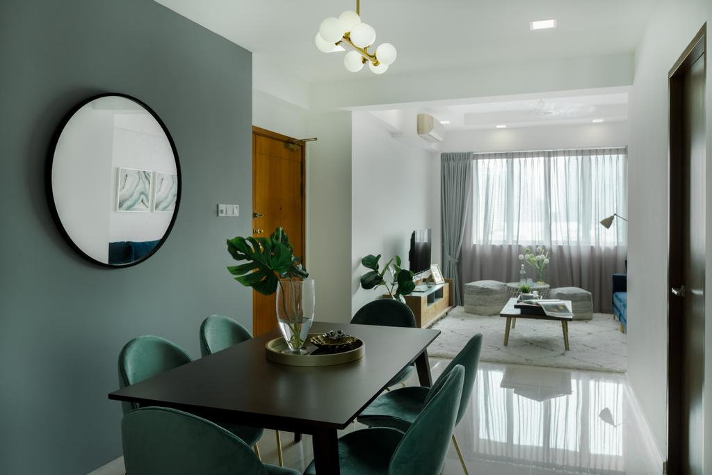 Contemporary, Condo, Dining Room, Princeton, Interior Designer, Home Philosophy