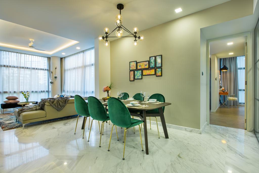Contemporary, Condo, Dining Room, River Place, Interior Designer, Home Philosophy