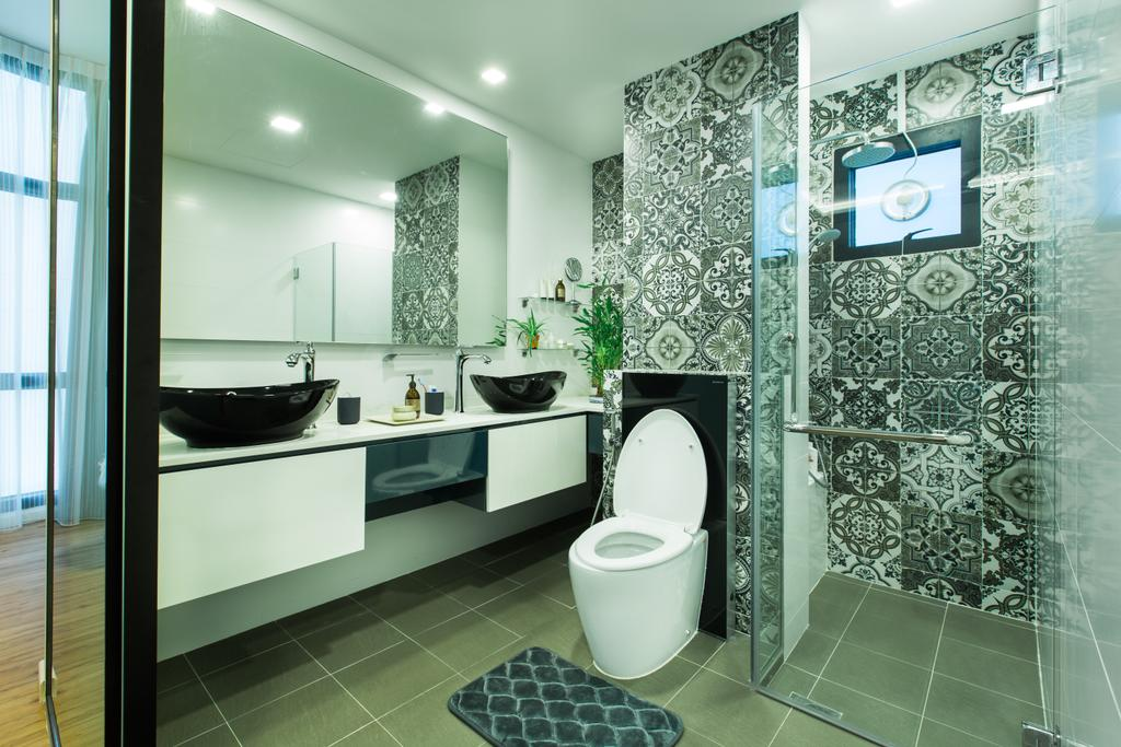 Contemporary, Condo, Bathroom, River Place, Interior Designer, Home Philosophy