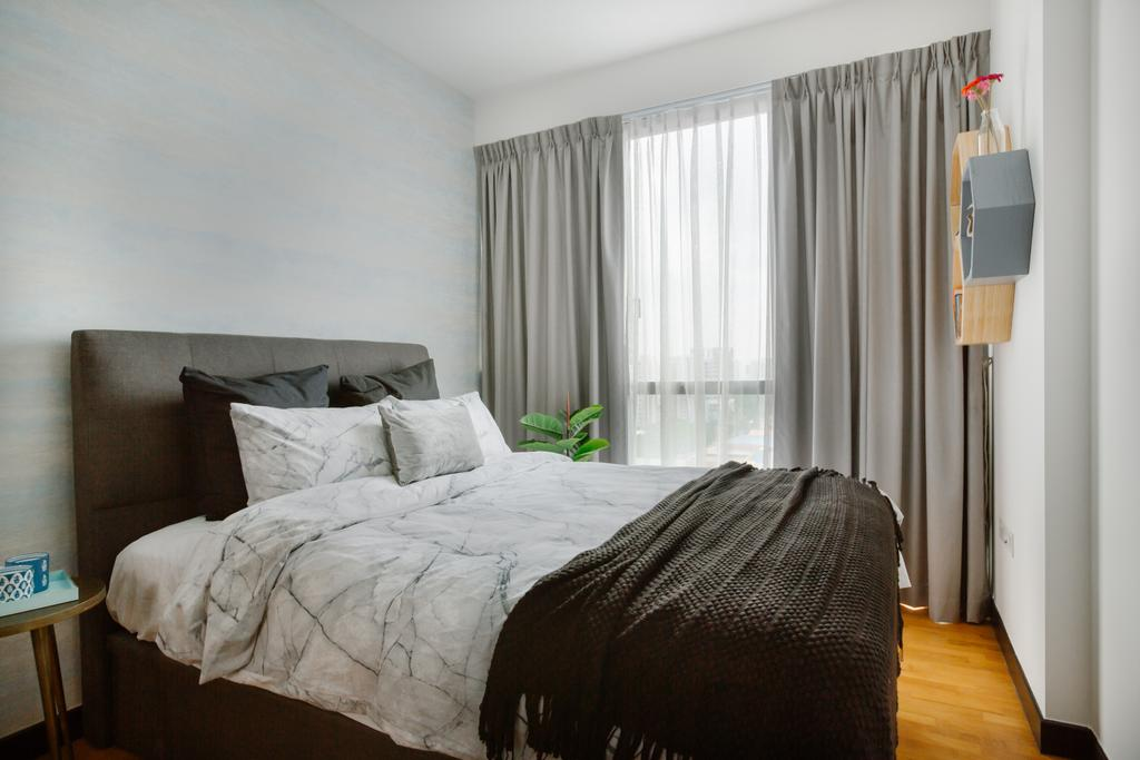 Contemporary, Condo, Bedroom, Shore Residences, Interior Designer, Home Philosophy