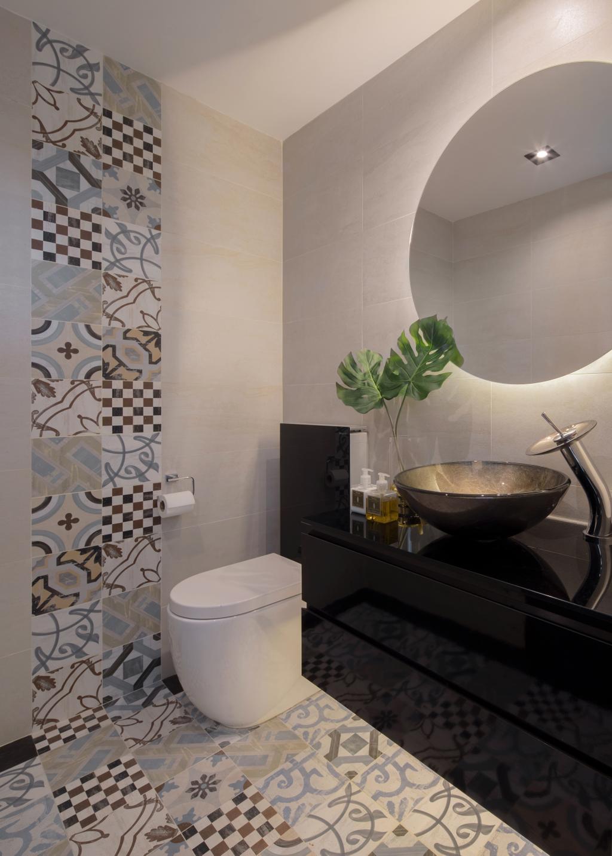 Contemporary, Condo, Bathroom, Shore Residences, Interior Designer, Home Philosophy