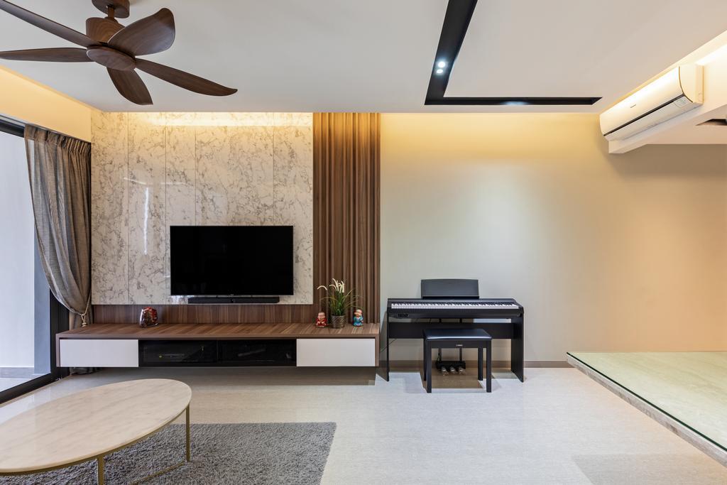 Contemporary, Condo, Living Room, The Criterion, Interior Designer, T&T Design Artisan
