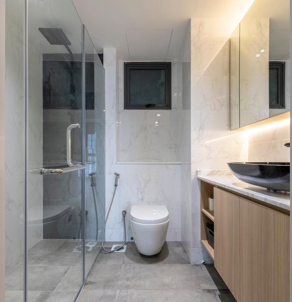 Contemporary, HDB, Bathroom, Pinnacle @ Duxton, Interior Designer, Meter Square