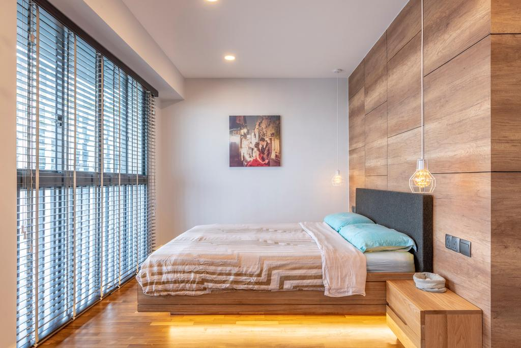 Contemporary, HDB, Bedroom, Pinnacle @ Duxton, Interior Designer, Meter Square