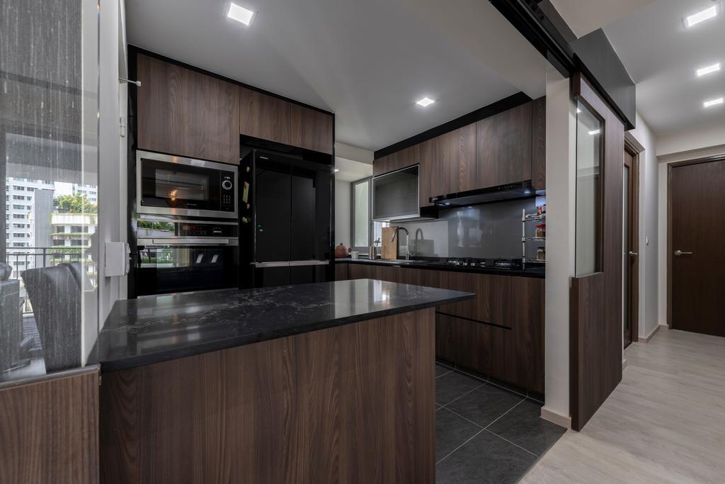 Contemporary, HDB, Kitchen, Toa Payoh Lorong 1A, Interior Designer, Zenith Arc