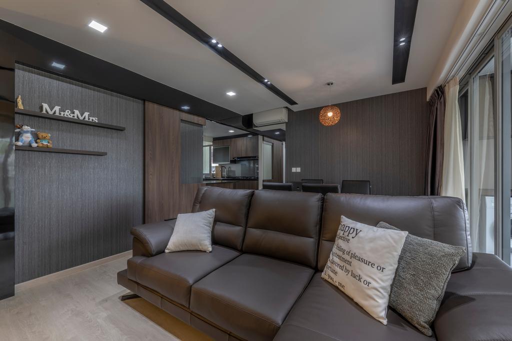Contemporary, HDB, Living Room, Toa Payoh Lorong 1A, Interior Designer, Zenith Arc