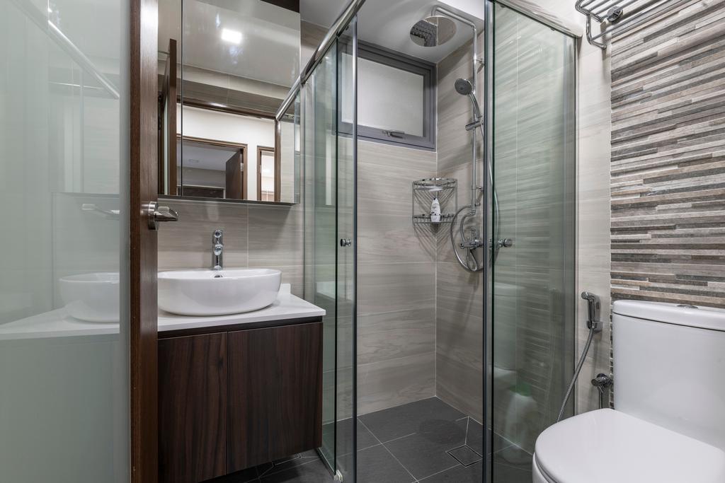 Contemporary, HDB, Bathroom, Toa Payoh Lorong 1A, Interior Designer, Zenith Arc