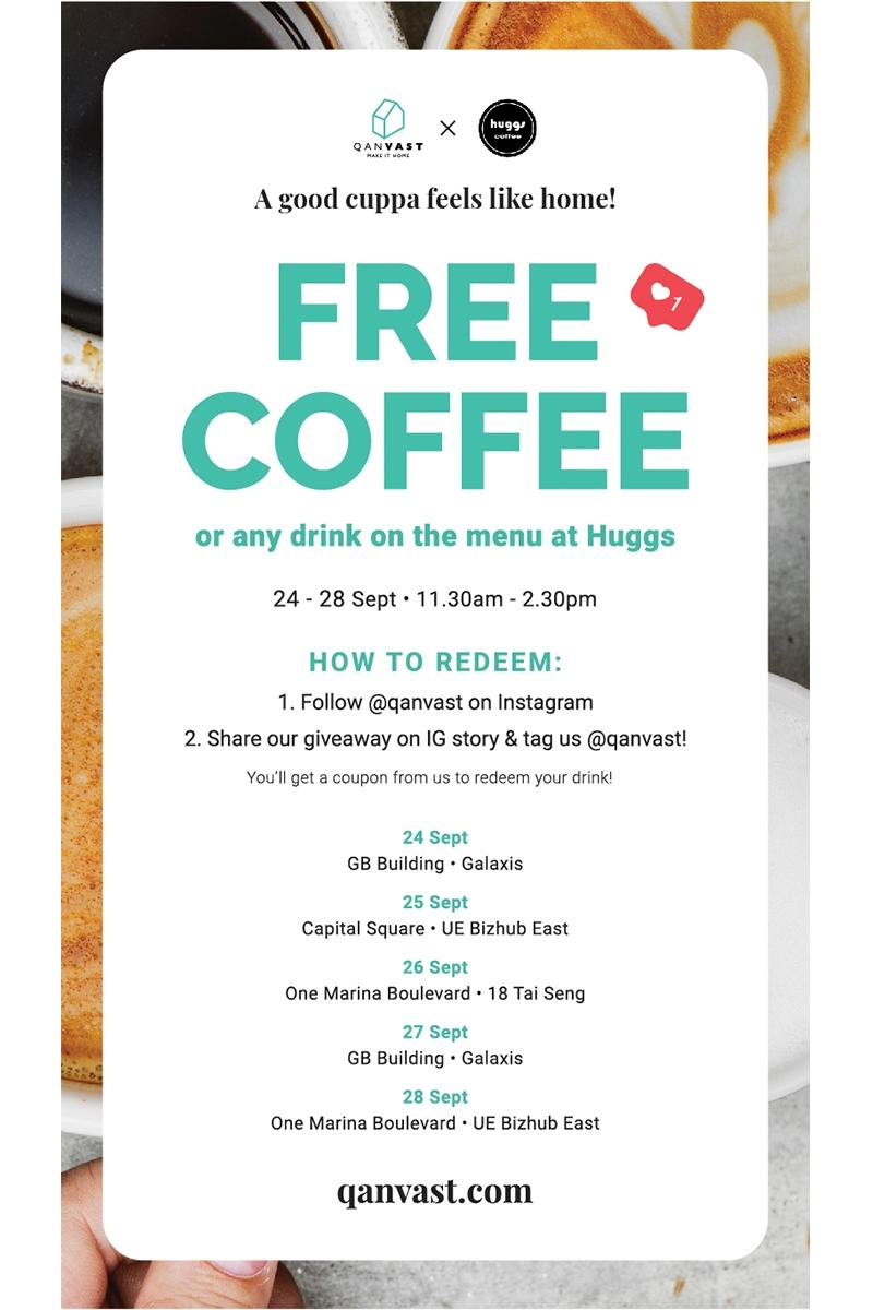 Coffee Giveaway in Collaboration with Huggs