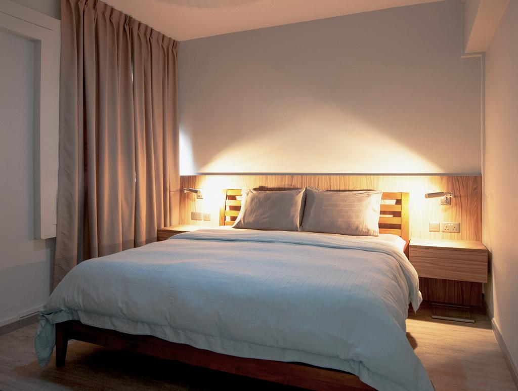 Contemporary, HDB, Bedroom, Toa Payoh Lorong 1, Interior Designer, Seven Heaven