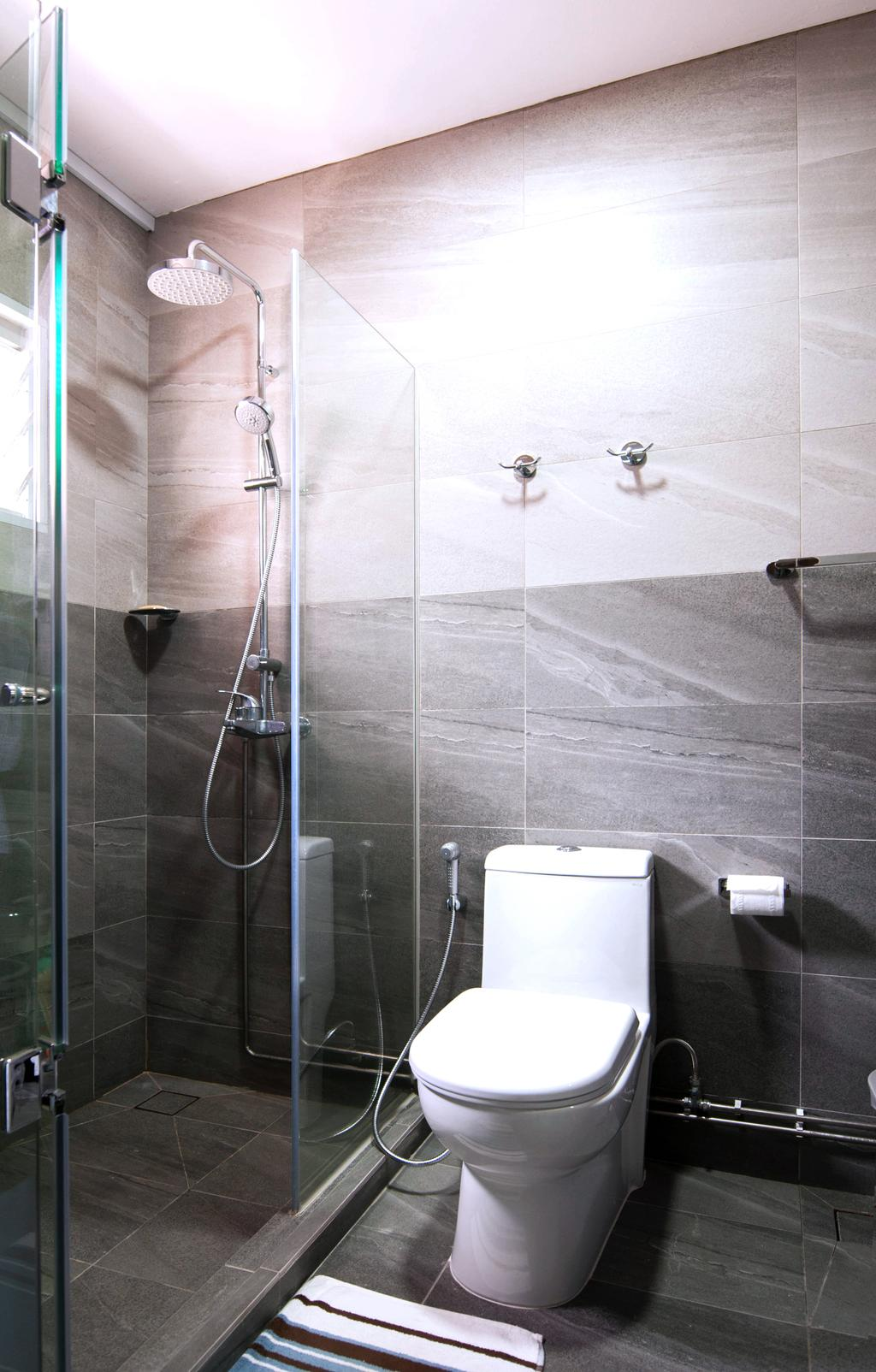 Contemporary, HDB, Bathroom, Toa Payoh Lorong 1, Interior Designer, Seven Heaven