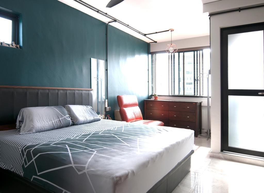Contemporary, HDB, Bedroom, Yishun Street 81, Interior Designer, Seven Heaven