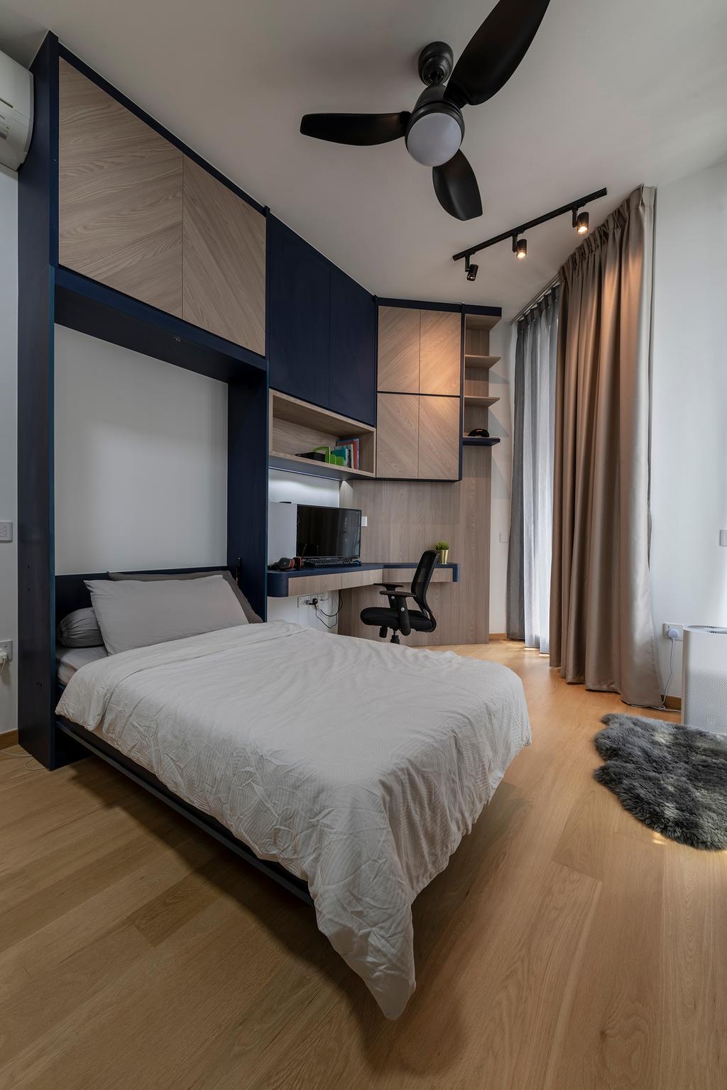 Contemporary, Condo, Bedroom, The Crest, Interior Designer, Craftsmen Atelier