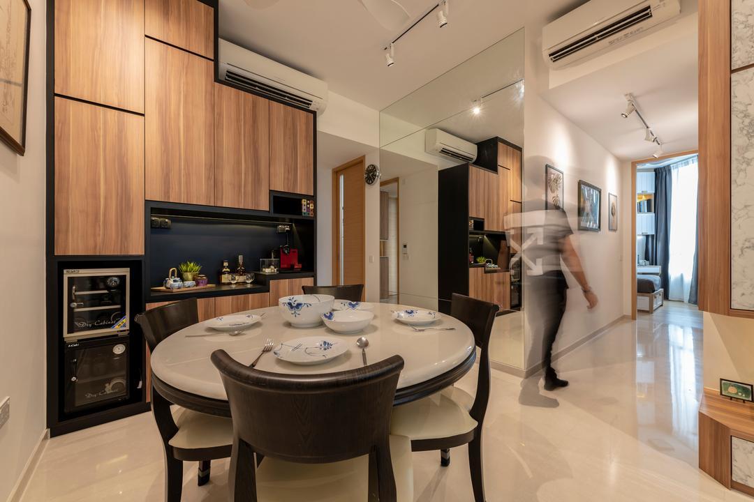 The Crest Dining Room Interior Design 8