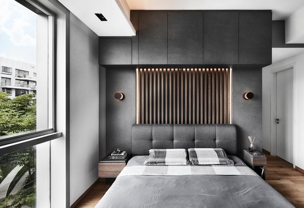 Contemporary, Condo, Bedroom, Reflections at Keppel Bay, Interior Designer, Third Avenue Studio