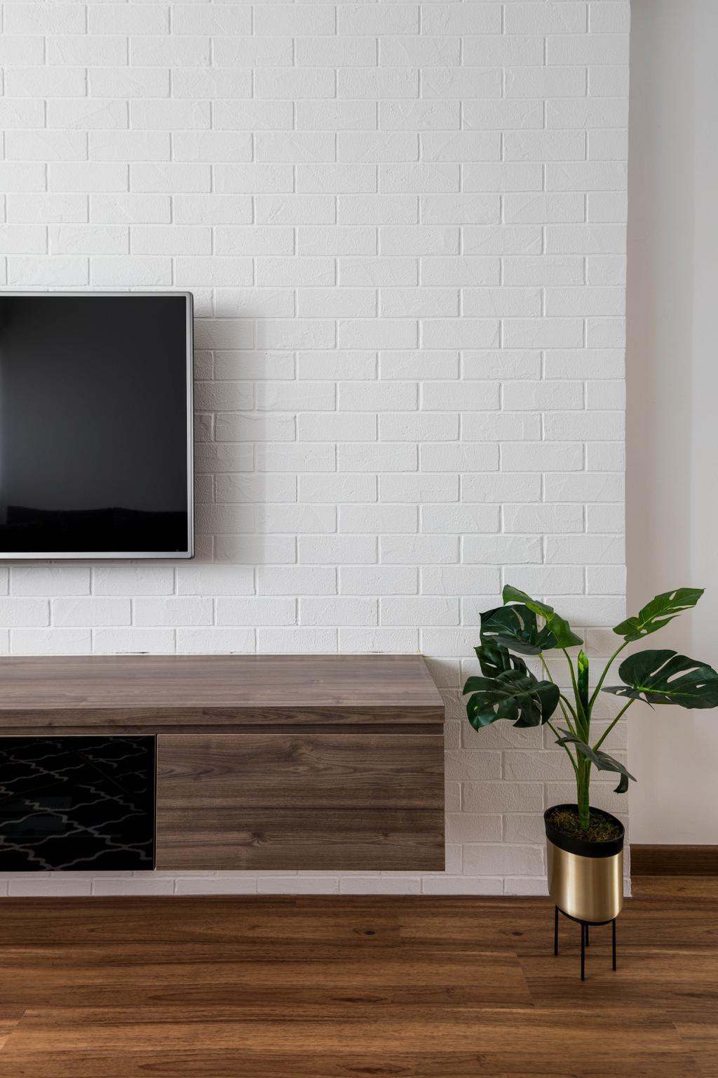 Scandinavian, HDB, Living Room, Yishun Ring Road, Interior Designer, Voila, Contemporary