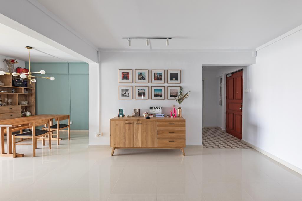 Contemporary, HDB, Living Room, 2 Delta Avenue, Interior Designer, Seven Heaven