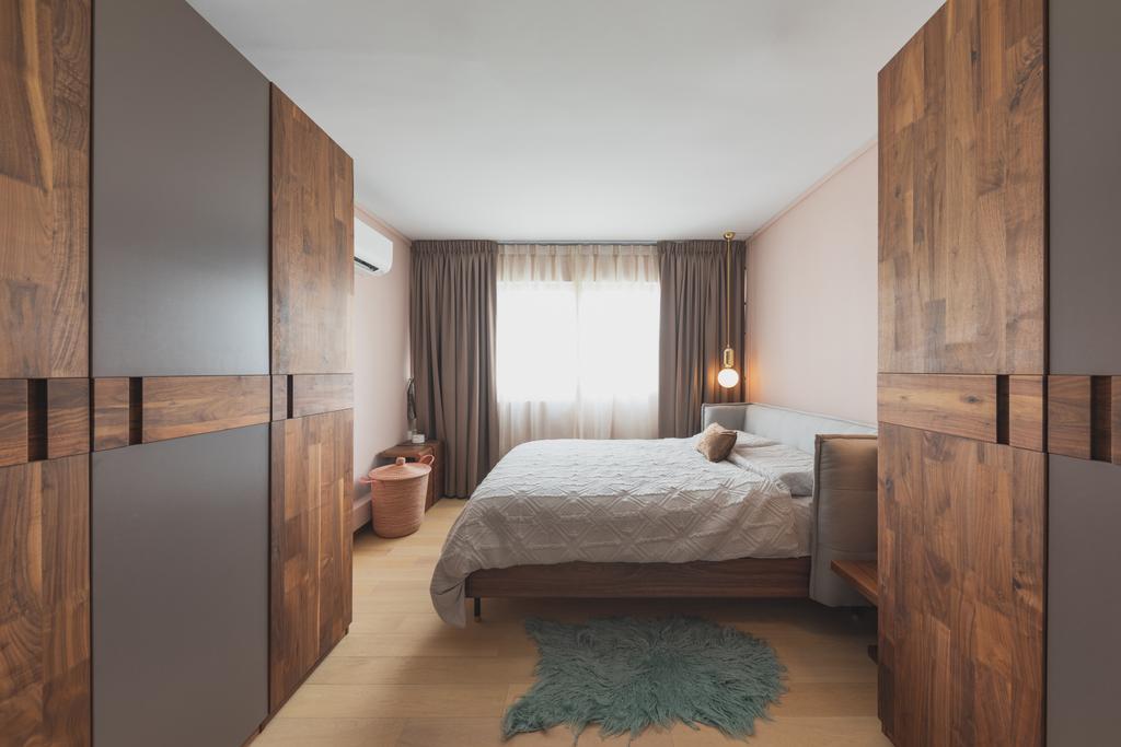 Contemporary, HDB, Bedroom, 2 Delta Avenue, Interior Designer, Seven Heaven