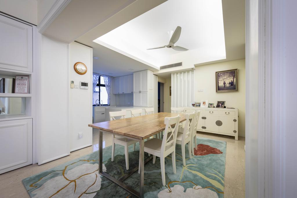 Modern, Condo, Dining Room, Casa Esperanza, Interior Designer, Baum Project Pte Ltd, Contemporary