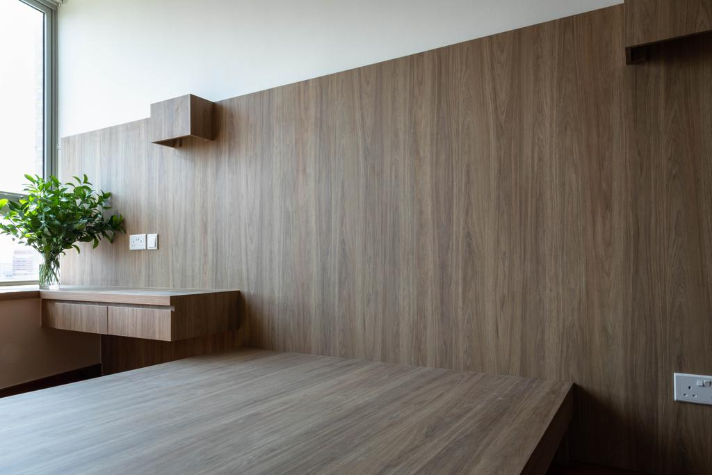 Contemporary, Condo, Bedroom, Clover by the Park, Interior Designer, Baum Project Pte Ltd
