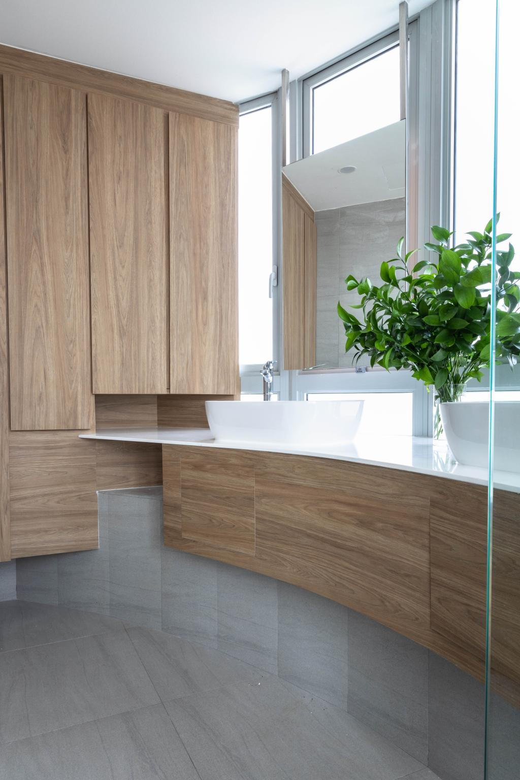 Contemporary, Condo, Bathroom, Clover by the Park, Interior Designer, Baum Project Pte Ltd