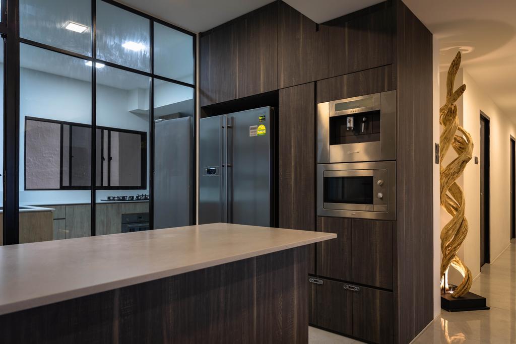Contemporary, Condo, Kitchen, Windy Heights, Interior Designer, Baum Project Pte Ltd