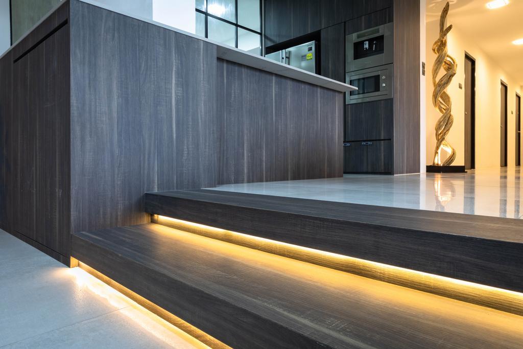 Contemporary, Condo, Living Room, Windy Heights, Interior Designer, Baum Project Pte Ltd