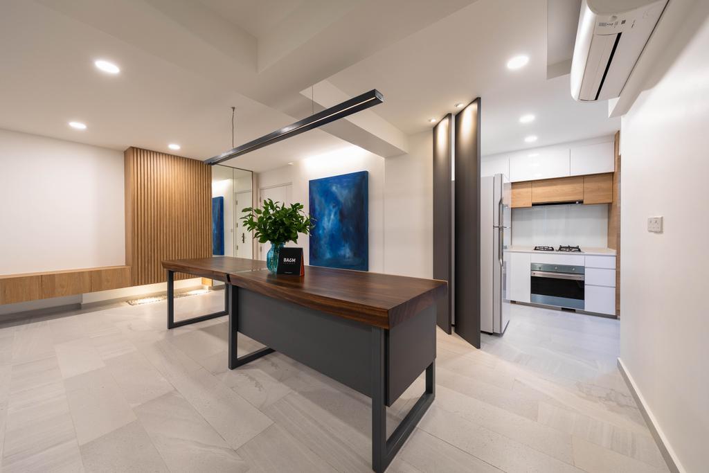 Contemporary, HDB, Dining Room, Clementi, Interior Designer, Baum Project Pte Ltd