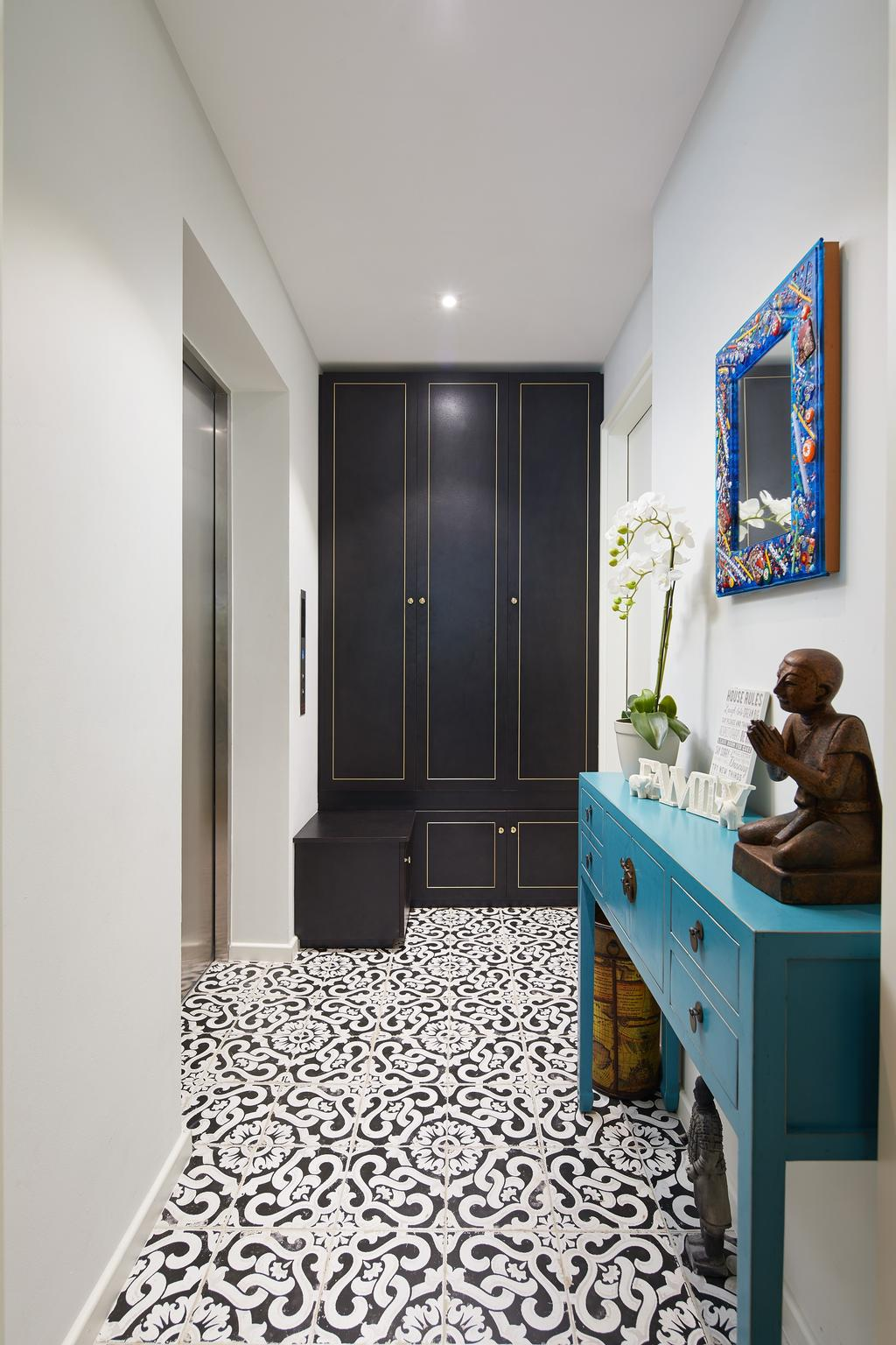 Contemporary, Condo, Upper Bukit Timah, Interior Designer, Black N White Haus