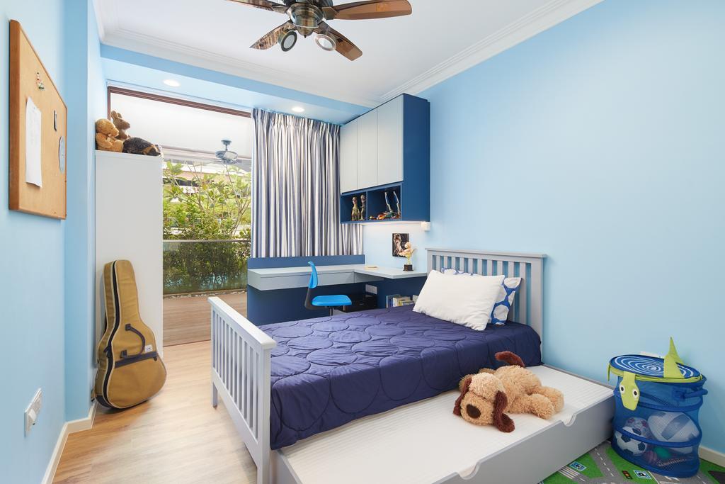 Contemporary, Condo, Bedroom, Upper Bukit Timah, Interior Designer, Black N White Haus