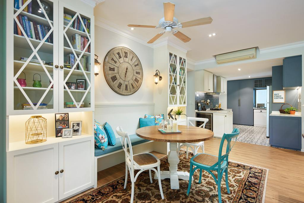 Contemporary, Condo, Dining Room, Upper Bukit Timah, Interior Designer, Black N White Haus