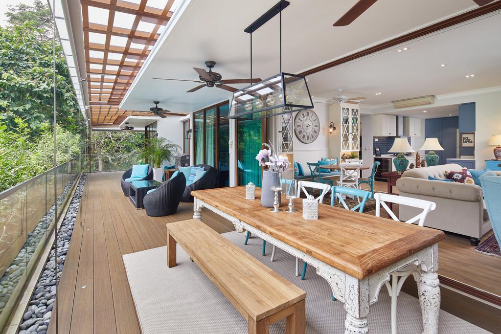 Contemporary, Condo, Balcony, Upper Bukit Timah, Interior Designer, Black N White Haus