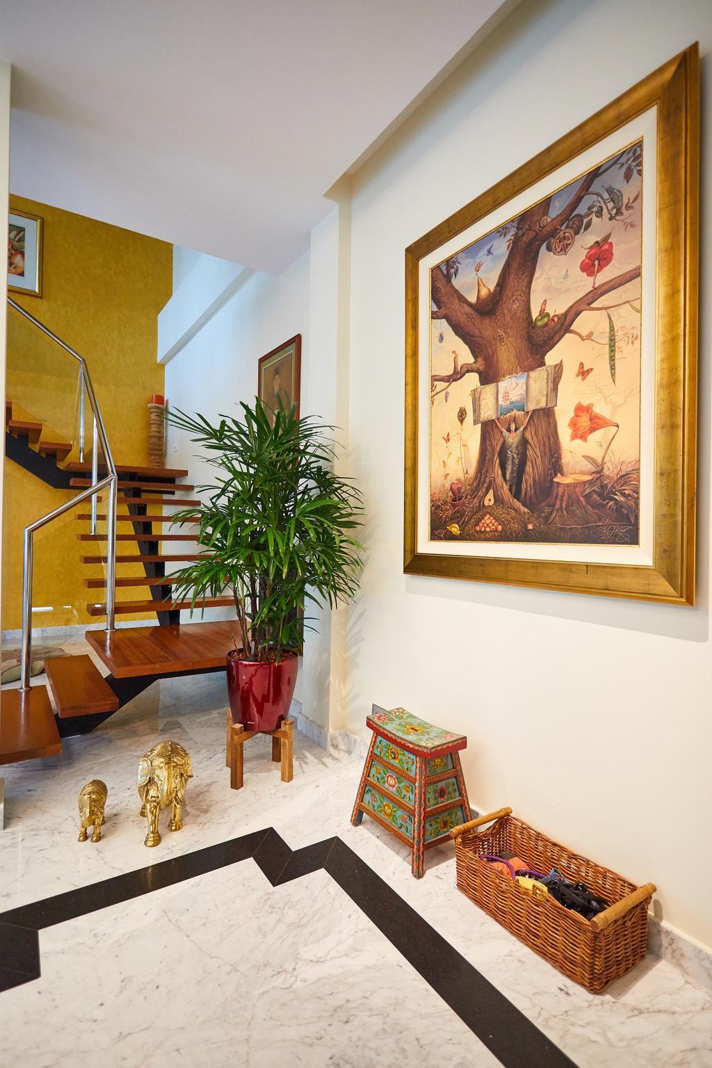 Transitional, Landed, Serangoon Gardens, Interior Designer, Black N White Haus, Contemporary