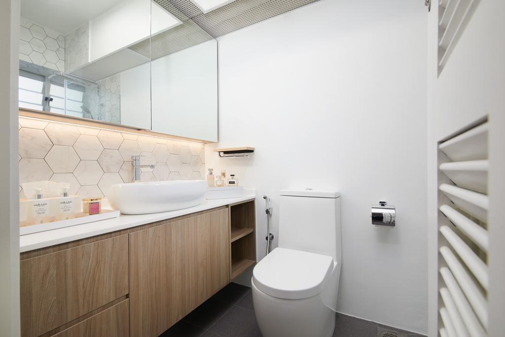 Contemporary, HDB, Bedroom, Holland Drive, Interior Designer, Black N White Haus