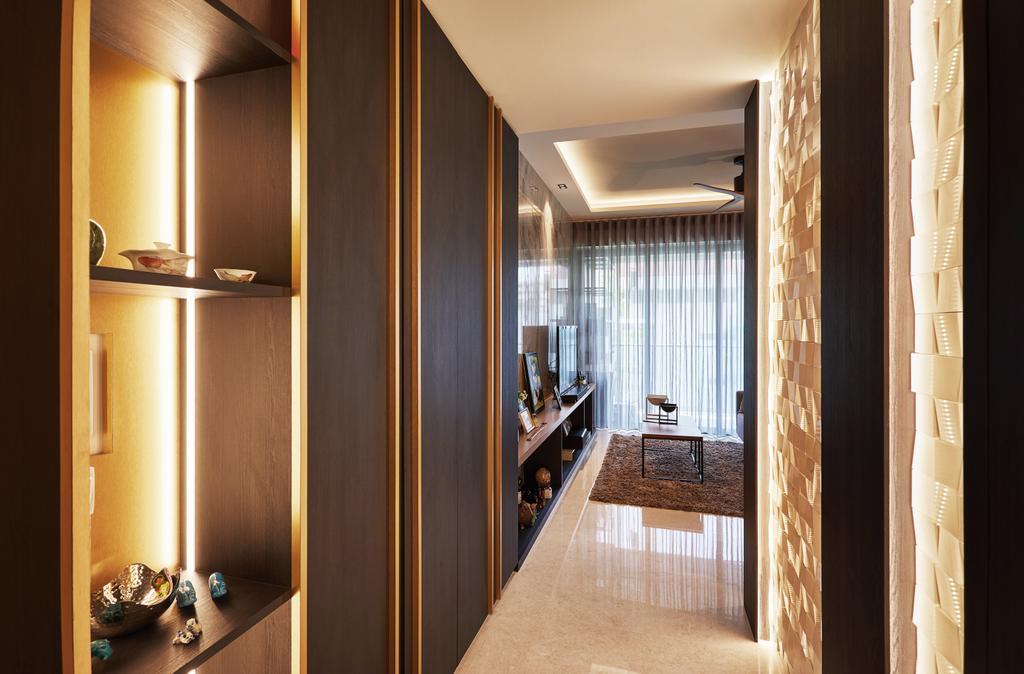 Contemporary, Condo, Living Room, Upper Thomson Road, Interior Designer, Black N White Haus