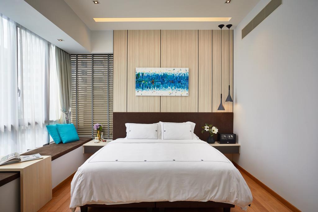 Condo, Bedroom, Meyer Road, Interior Designer, Black N White Haus