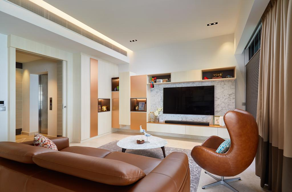 Condo, Living Room, Meyer Road, Interior Designer, Black N White Haus