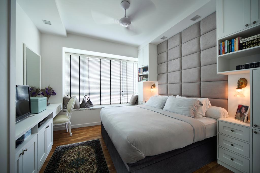 Contemporary, Condo, Bedroom, Bukit Timah Road, Interior Designer, Black N White Haus