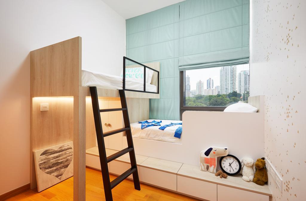 Contemporary, Condo, Bedroom, Balmoral Road, Interior Designer, Black N White Haus, Kids Room