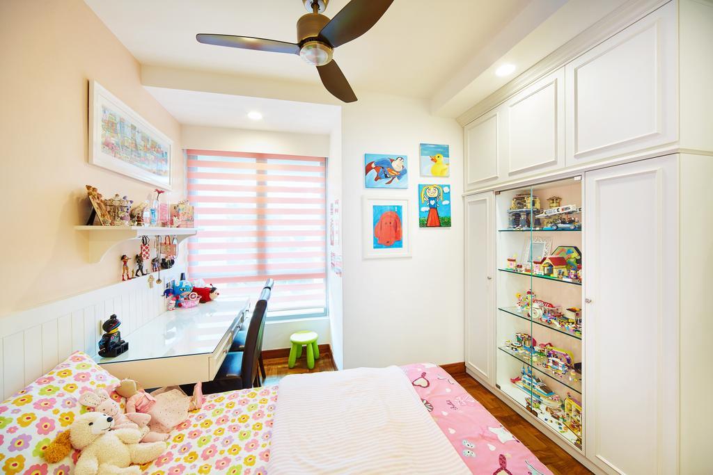 Condo, Bedroom, Bukit Timah Road, Interior Designer, Black N White Haus