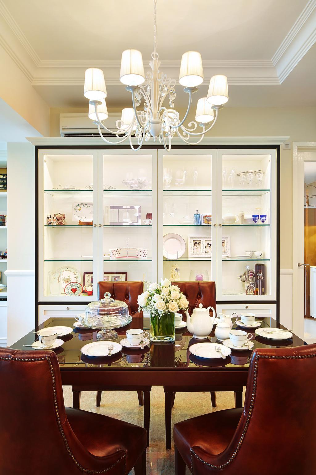 Condo, Dining Room, Bukit Timah Road, Interior Designer, Black N White Haus