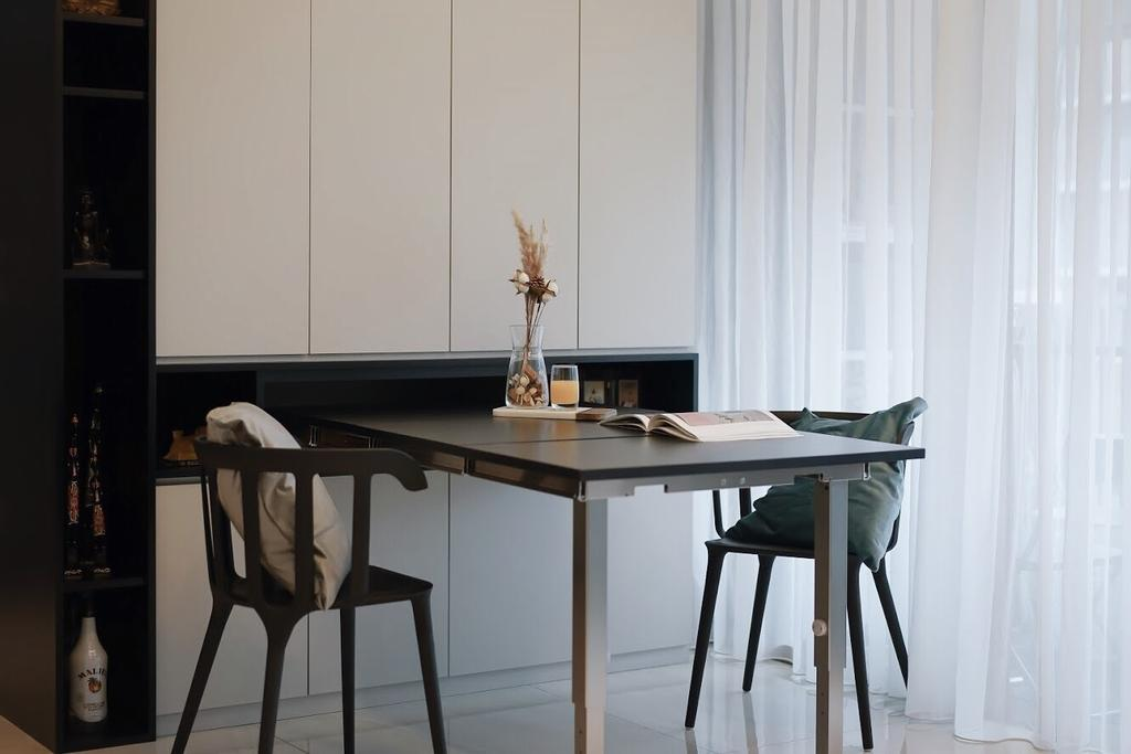 Minimalistic, HDB, Dining Room, Anchorvale Crescent, Interior Designer, Authors • Interior & Styling, Scandinavian