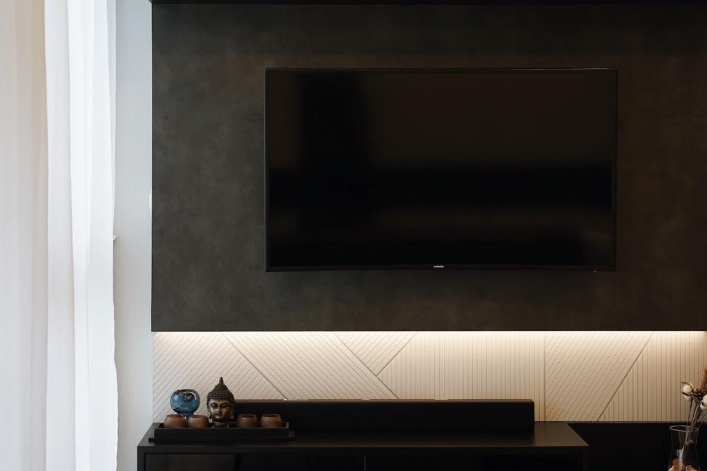 Minimalistic, HDB, Living Room, Anchorvale Crescent, Interior Designer, Authors • Interior & Styling, Scandinavian