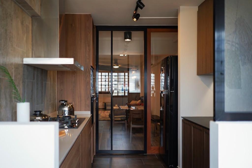 Contemporary, HDB, Kitchen, Potong Pasir Avenue 1, Interior Designer, Authors • Interior & Styling
