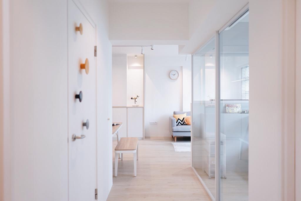 Minimalistic, HDB, Living Room, Telok Blangah Street 31, Interior Designer, Authors • Interior & Styling, Scandinavian