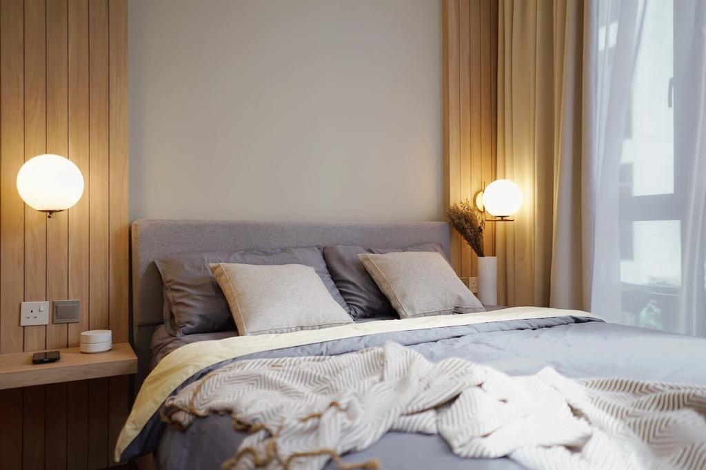 Scandinavian, Condo, Bedroom, Toh Tuck Road, Interior Designer, Authors • Interior & Styling