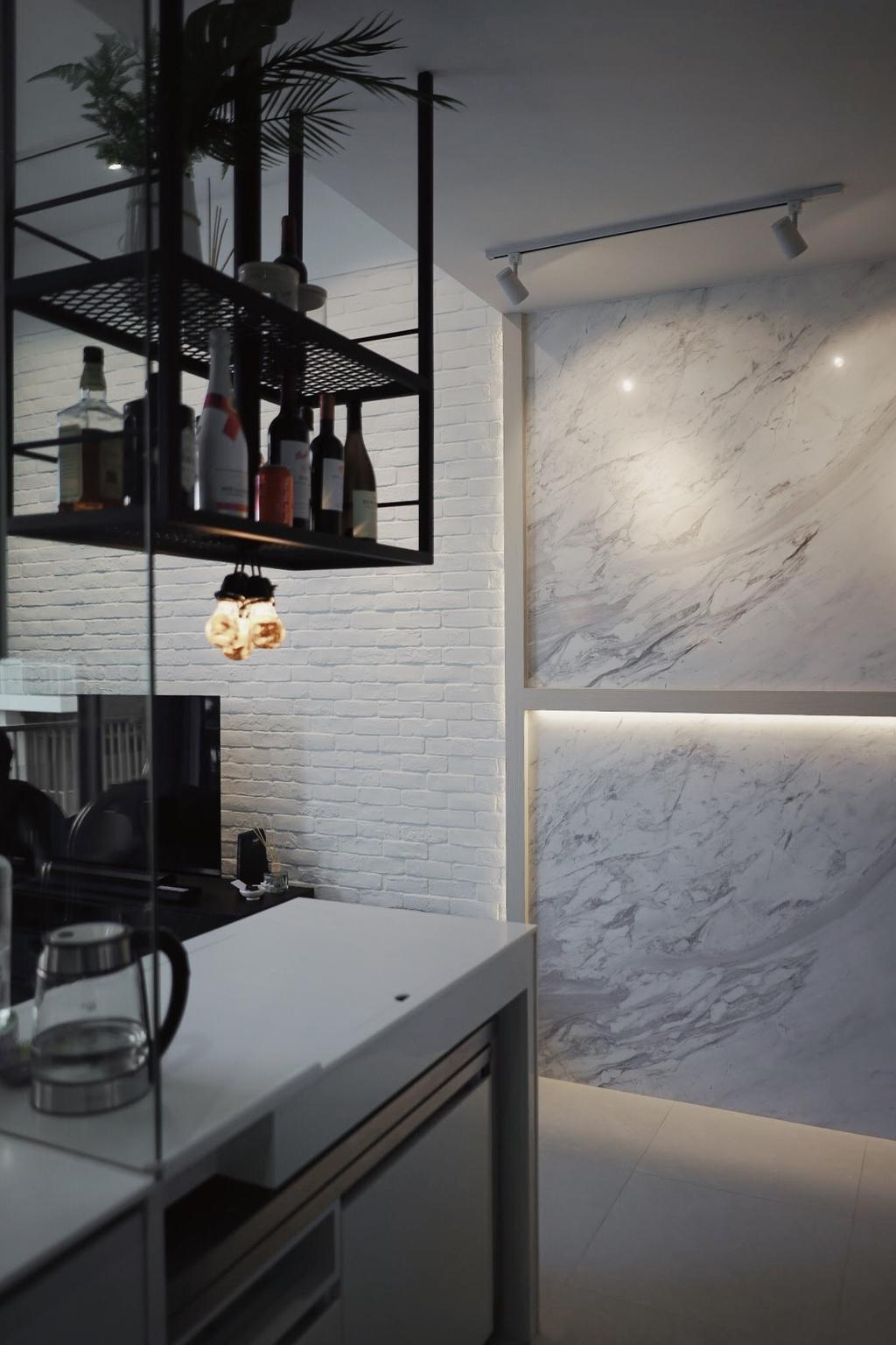 Contemporary, Condo, Kitchen, The Creek, Interior Designer, Authors • Interior & Styling, Minimalistic