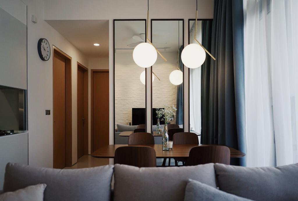 Contemporary, Condo, Living Room, The Creek, Interior Designer, Authors • Interior & Styling, Minimalistic